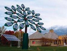 """Solar Tree สุดยอดไอเดีย""""ต้นไม้พลังงานแสงอาทิตย์"""""""