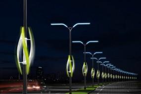 Turbine Light เปลี่ยนความสว่างไสวบนถนนไฮเวย์ ด้วยพลังงานลม