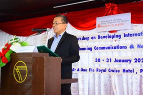 Workshop on Developing International Project and Enhancing Communications & Networking Skills